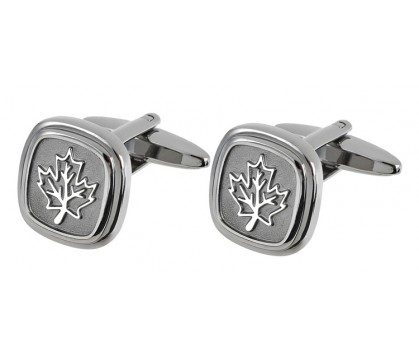 MAPLE LEAF CUFFLINK