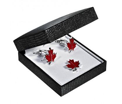 Maple Leaf Cufflink/ Pin