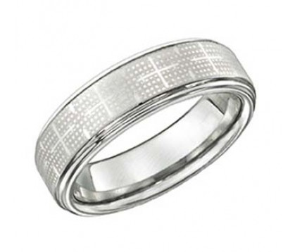 TUNGSTEN WEDDING BAND - 7MM