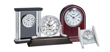 Engravable Desk Clocks