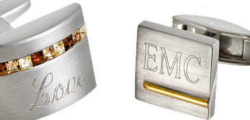 Personalized Engravable cuff links
